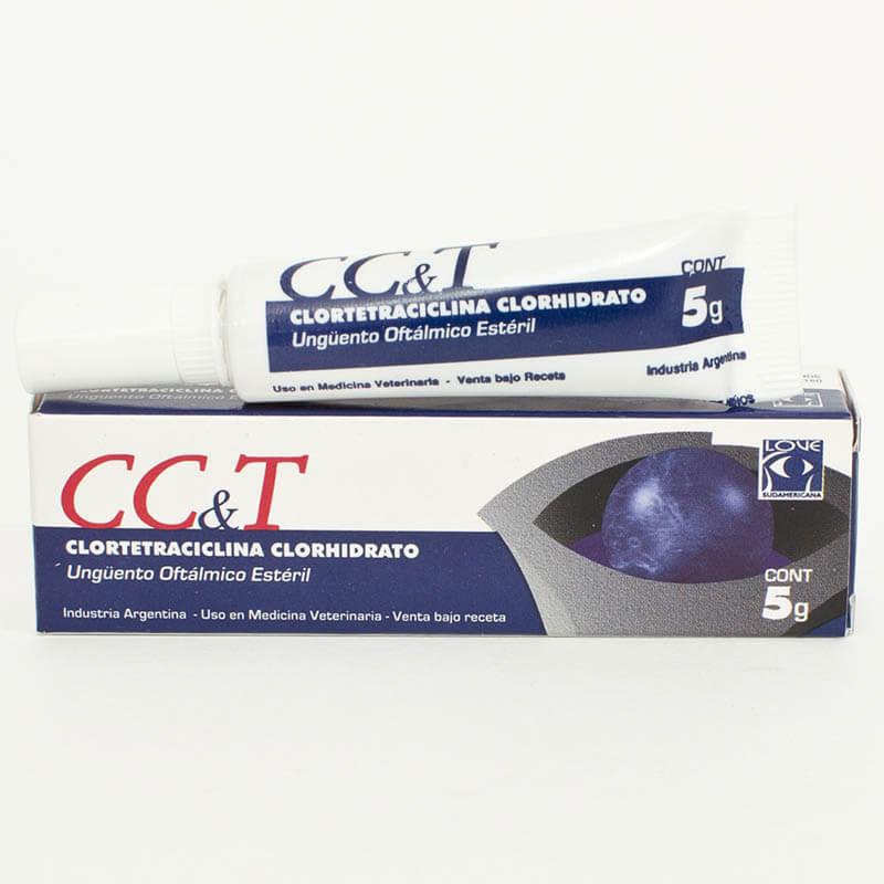 cc&t ungüento oftalmico esteril lablove